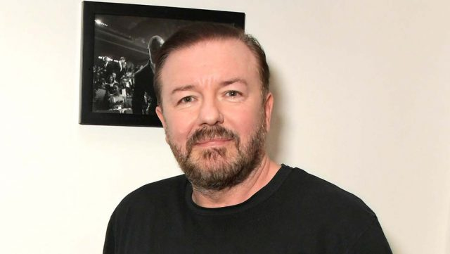 Ricky Gervais Measurements Shoe Size Height Weight
