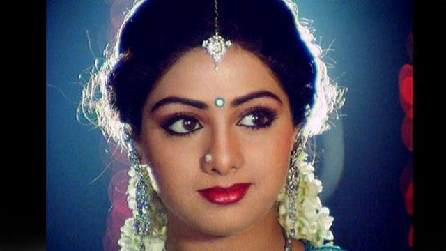 Sridevi Measurements Bra Size Height Weight